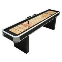 Shop Challenger 9-Ft Shuffleboard Table - Dark Cherry Finish - Overstock - 6217673 Shuffleboard Games, Outdoor Shuffleboard, Laminate Cabinets, Indoor Games, Table Games, Game Tables, Pool Tables, Bar Games, Shopping