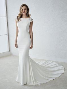 Fiana wedding dress by White One Bridal from Pronovias www.zadikabridal.ie