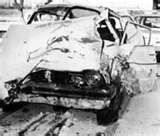 Karen Silkwood died in a mysterious car accident the night she was on her way to meet with someone from the New York Times.  Her car was later found to have run off the road and striking a culvert.  There was damage to the rear of her vehicle that led to suspicions that she was purposely run off the road.  Her body was found inside the car.