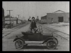 304. We take the train's point of view as it bears down on our hero | Fast and Furious (1924)