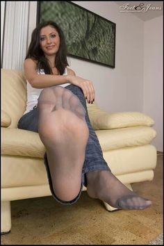 Face pantyhose feet blog this position
