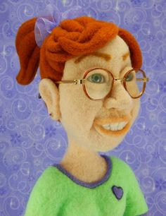 Daphne - from the book Needle Felting -Sculpting People With Wool.