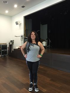 Zumba in the Aula WBS Sankt Alban