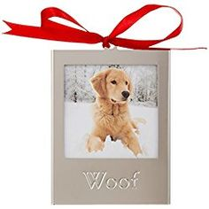 Lenox Frame Ornament, Dog >>> Trust me, this is great! Click the image. Gifts For Dog Owners, Dog Lover Gifts, Dog Lovers, Dog Christmas Gifts, Christmas Animals, Frame Ornament, Ornaments, Dogs Trust, Winter Wonderland