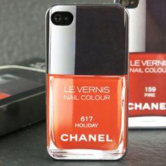 Chanel Nail Polish iPhone Case Chanel Nail Polish, Chanel Nails, Mobile Cases, Usb Flash Drive, Iphone Cases, Polish, Iphone Case, I Phone Cases, Usb Drive