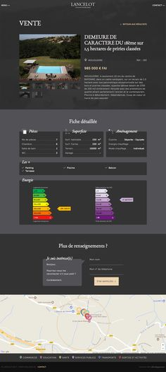 #webdesign #agency #bordeaux #agence #web #site #website #internet #immobilier #luxe #black #architecture