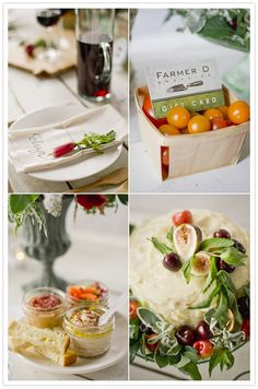 Farm to table party inspiration   Cocktail + Dinner Parties, Styled Shoots   100 Layer Cake