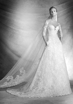 Atelier Pronovias VARNAVA Wedding Dress - The Knot