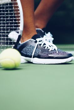 Luxury redefined for the female athlete. Step up your game like Hannah Bronfman in the adidas by Stella McCartney US Open Barricade BOOST. They are the perfect merge of agile performance and sophisticated style. Powered by the energy returning BOOST to put power in every striking step. Shop your next pair here.
