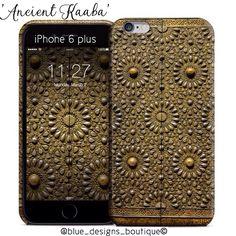 Ancient Kaaba door iphone 6plus case #ramadan #makkah #mecca #saudiarabia #doorsofthemagickingdom