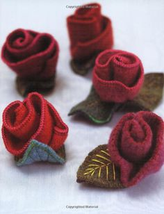 Heartfelt: 25 Projects for Stitched and Felted Accessories: Teresa Searle: AmazonSmile: Books