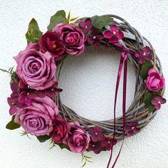 Summer Wreath, Grapevine Wreath, Grape Vines, Floral Wreath, Wreaths, Boho, Decor, Floral Crown, Decoration