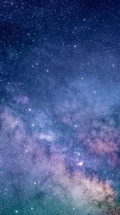 Starry space, milky way, clouds, stars, wallpaper Galaxy Phone Wallpaper, Night Sky Wallpaper, 8k Wallpaper, Wallpaper Space, Scenery Wallpaper, Cute Wallpaper Backgrounds, Tumblr Wallpaper, Pretty Wallpapers, Galaxy Painting