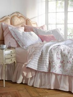 Simply Shabby Chic Cherry Blossom Full Queen Quilt | eBay