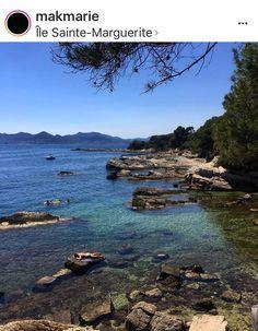 Iles de Lerins - Smaller, cheaper beaches. The smaller is St Honorat ...