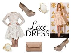 SEXY Lace Dress by chocolatedropp on Polyvore featuring Sergio Rossi, Ippolita, Maria Lucia Hohan, taylorswift and lacedress