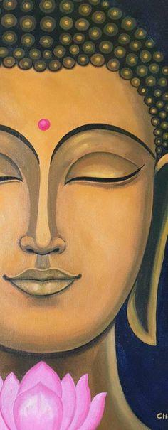 Budha Painting, Mural Painting, Mural Art, Acrylic Painting Canvas, Canvas Art, Interior Painting, Buddha Canvas, Buddha Art, Buddha Drawing