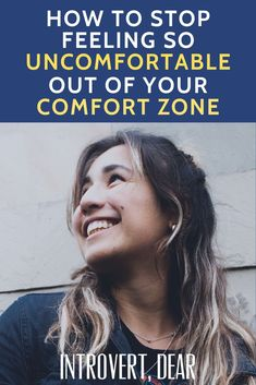 Once I realized I could stay in my comfort zone all the time, I immediately felt relief, like I had just quit the worst, most stressful job of my life. Most Stressful Jobs, I Had An Epiphany, Isfj Personality, Team Building Quotes, Introvert Problems, Believe Quotes, Change Your Mindset, Life Words, Sport Quotes