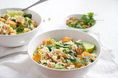 kokosrijst spinazie
