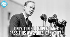 Only 1 in 50 People Can Pass This WW2 Quiz, Can You? | BrainFall