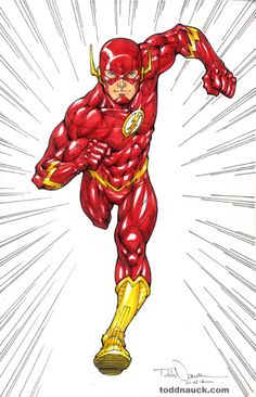 'New 52' Flash - Todd Nauck
