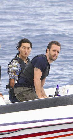 Hawaii Five -0 Alex O'Loughlin and Daniel Dae Kim #H50