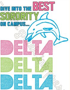 delta delta delta sugar from sorority sugar sponsor ~ the greek ink press! <3  http://www.thegreekinkpress.com
