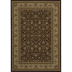 @Overstock - This traditional Kashan rug brings Middle Eastern elegance to your home. The polypropylene construction is sturdy and resists stains, helping the rug maintain its original beauty after frequent use. The intricate pattern has a warm, rich color scheme.http://www.overstock.com/Home-Garden/Westminster-Brown-Kashan-Rug-910-x-136/6013938/product.html?CID=214117 $499.99
