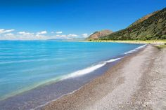 Bear Lake, Utah: Yes...the water can truly be this color blue.