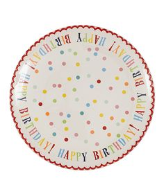 Take a look at this 'Happy Birthday!' Ceramic Plate today!