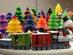 Modern-day Neanderthal shares her ABCs: 3D Christmas Village Paper Crafts
