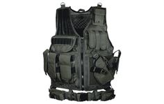Light Tactical Vest, for easy reach to your gear and additional protection to your torso
