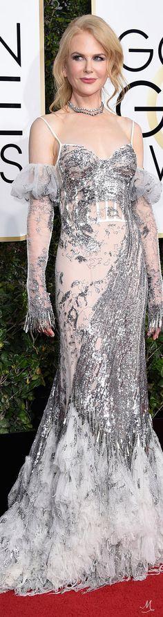 Golden Globes 2017 - Nicole Kidman in Alexander McQueen