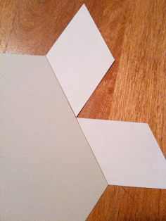 A Few Scraps: Making your own english paper piecing templates
