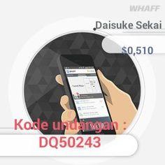 Dapatkan bonus tambahan bersama teman melalui WHAFF