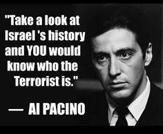 al pacino on palestine - Google Search
