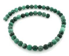 8mm Brazil Rainforest Jasper Round Gem Stone Beads
