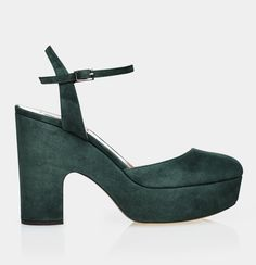 Designer High Heels from Award Winning Shoe Designer Tabitha Simmons. Designer High Heels, High Heel Shoes, High Heel Sandals and Platform Shoes. High Heels US Brooklyn Style, Designer High Heels, Tabitha Simmons, Green Shoes, Platform Shoes, Heeled Mules, Shoes Heels, Sandals, Bella