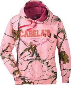 Cabelas Womens Varsity Print Hoodie