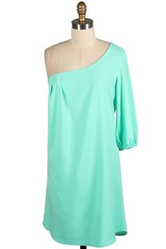 The Texas Cowgirl - Mint Green One Shoulder Dress,  (http://www.thetexascowgirl.com/mint-green-one-shoulder-dress/)
