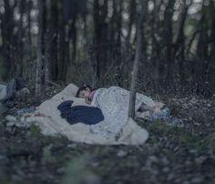 Un gran fotógrafo nos muestra dónde duermen los niños refugiados sirios