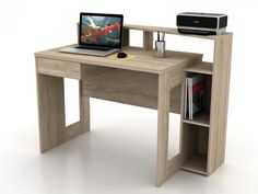 Bureau ARISTIDE sonoma | Mobistoxx | Votre spécialiste de meubles en ligne | bureau, chambre, meubles d'entrée, cuisine, salle à manger, salon, canapé, fauteuil, salle de bain