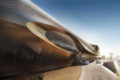 Zaha Hadid Architects Wins Competition for Oasis-Inspired Cultural Center in Saudi Arabia,© Methanoia. Courtesy of Zaha Hadid Architects Zaha Hadid Architecture, Education Architecture, Futuristic Architecture, Amazing Architecture, Chinese Architecture, Architecture Office, Cultural Architecture, Organic Architecture, Zaha Hadid Design