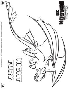 how to train your dragon coloring pages  Kids coloring