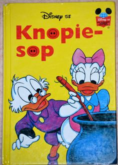 South Africa - Knopiesoup (Afrikaans). Scanned image of a book cover (©Disney).