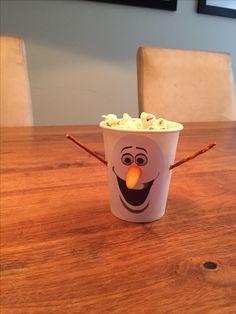 Frozen traktatie Olaf