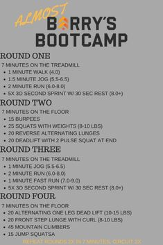 Build Your Own Barry's Bootcamp Workout Toned and Traveled is part of Boot camp workout - Hitt Workout, Treadmill Workouts, At Home Workouts, Workout Diet, Track Workout, Obesity Workout, Group Workouts, Circuit Training Workouts, Workout Plans