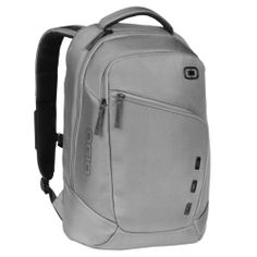 "OGIO Newt II S 17"" Laptop & Tablet Backpack Book Bag w/Fleece Pockets - Metallic"