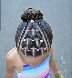 Toddler Braided Hairstyles with Beads Nice 31 kids braided hairstyles with beads for your toddler girl. It's highly joyful to make your girls braided style. This post consists of Kids braided hairstyl Toddler Braided Hairstyles, Toddler Braids, Lil Girl Hairstyles, New Natural Hairstyles, Braids For Kids, Girls Braids, Braid Hairstyles, Hairstyle Ideas, Hair Ideas