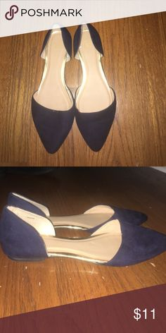 Navy Blue Flats Only worn once! GAP Shoes Flats & Loafers
